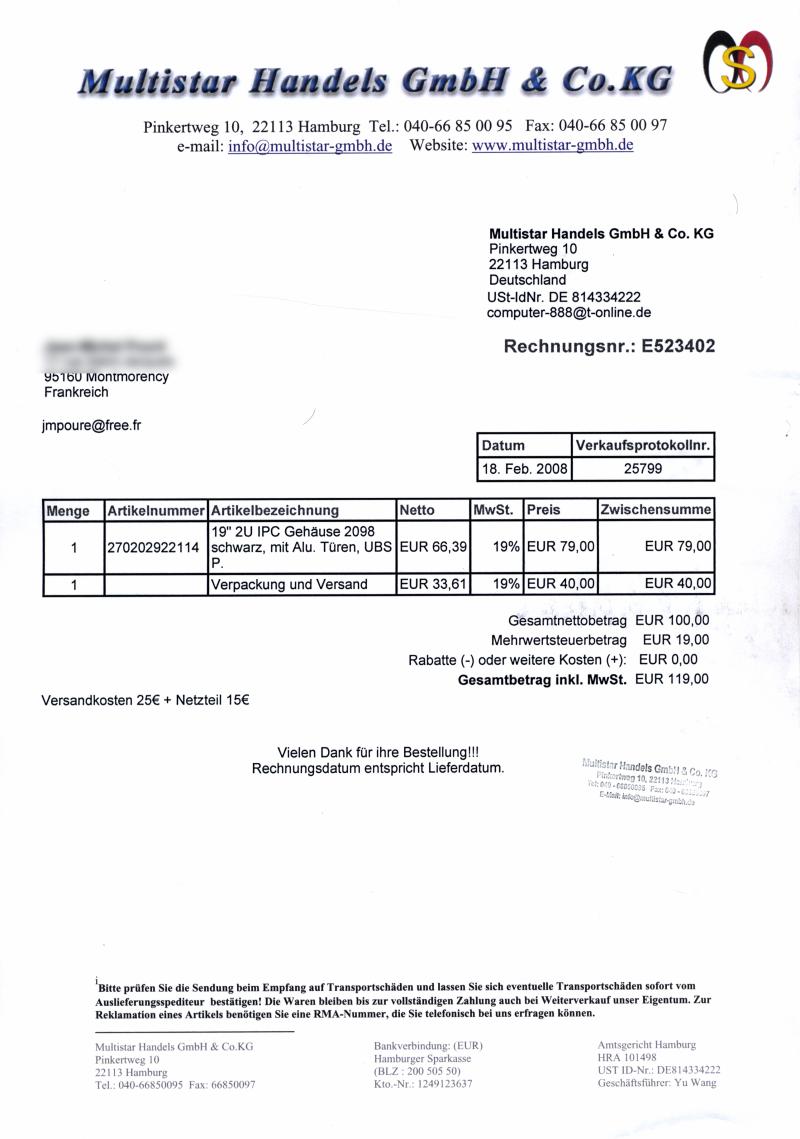 Loi Remboursement Achat En Magasin : 0006 achat bo tier serveur informatique 2u bulle ~ Dailycaller-alerts.com Idées de Décoration